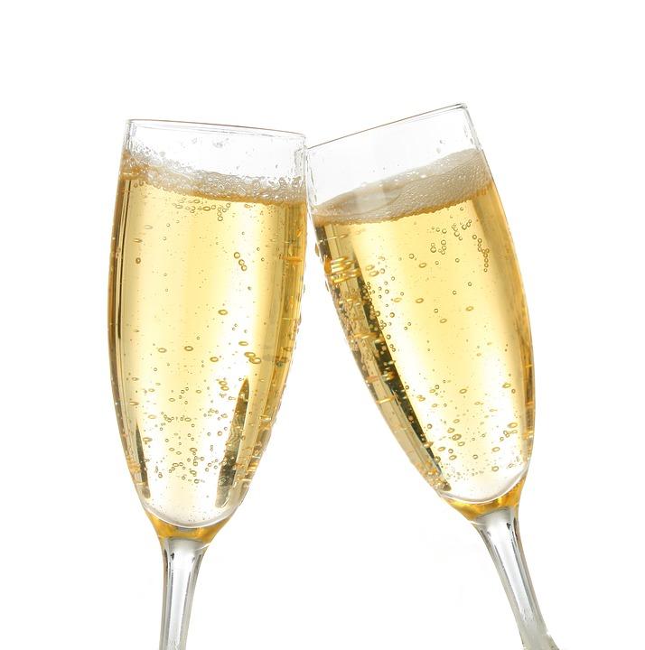 szampan - kieliszki